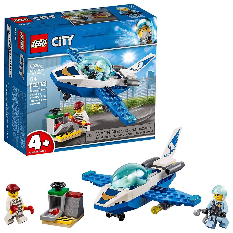 Patrulha Aérea Jato Patrulha - LEGO City 60206 - Noy Brinquedos