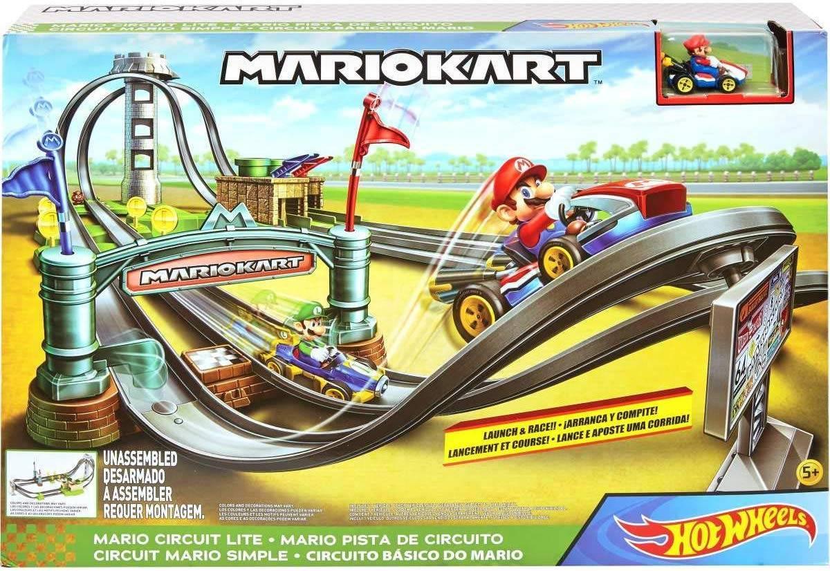 Pista Mini Circuito Mario Kart Hot Wheels - Mattel GHK15 - Noy Brinquedos