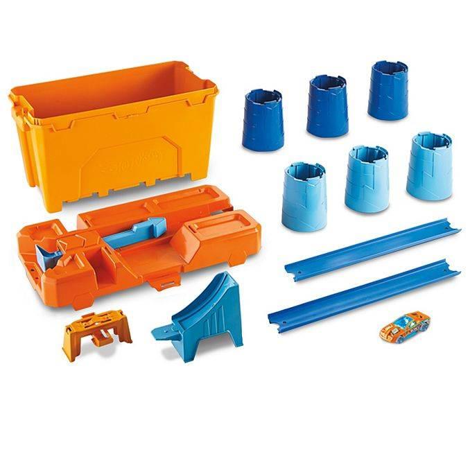 Caixa de Obstáculos Hot Wheels Track Builder - Mattel GCF91 - Noy Brinquedos