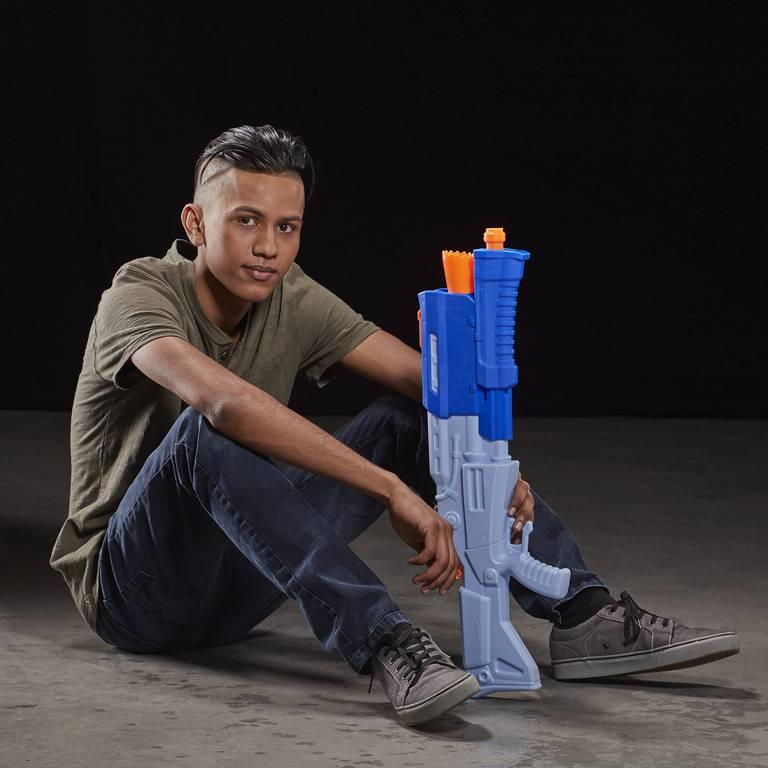 Nerf TS-R Super Soaker Fortnite Lança Água - Hasbro E6876 - Noy Brinquedos