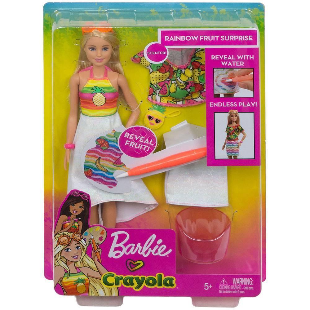 Surpresa de Frutas Barbie - Mattel - GBK18 - Noy Brinquedos