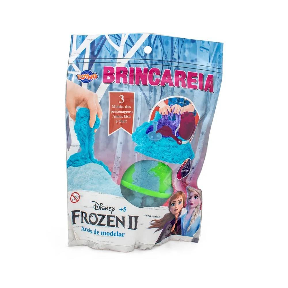 Saquinho de Areia de Modelar Brincareia Frozen 2 - Toyng 038 - Noy Brinquedos