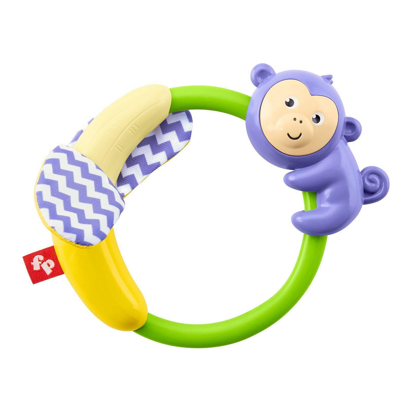 Safári Macaco Mordedor Fisher Price - Mattel GGF06 - Noy Brinquedos