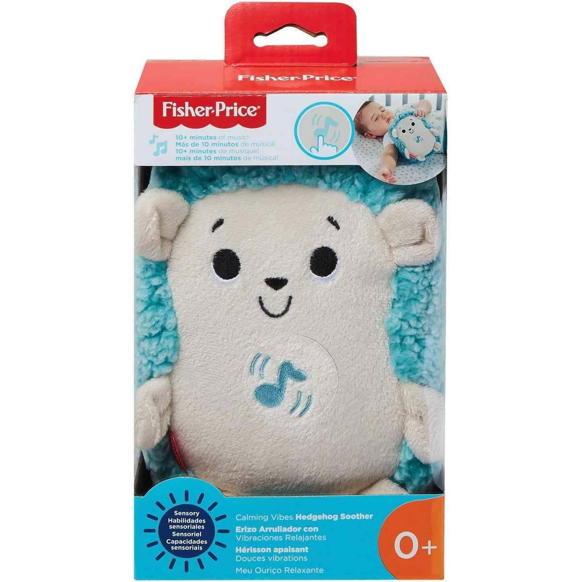 Pelúcia Meu Ouriço Relaxante Fisher Price - Mattel GHL40 - Noy Brinquedos