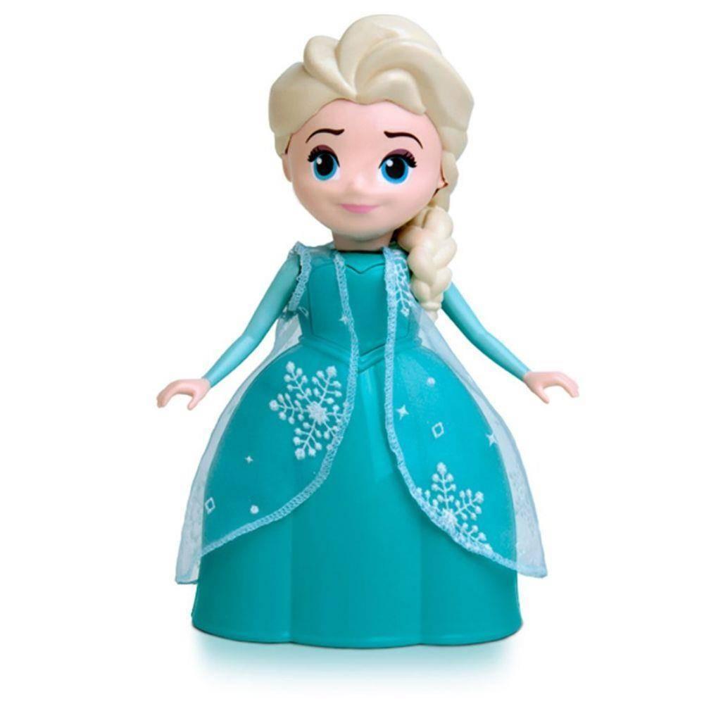 Boneca Musical Elsa Frozen  - Elka 947 - Noy Brinquedos