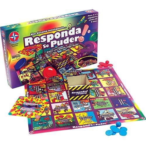 Responda Se Puder - Estrela 1201602400012 - Noy Brinquedos