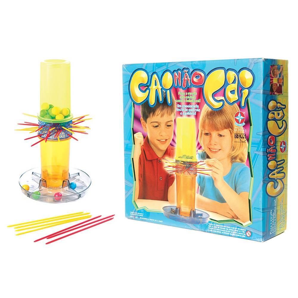 Jogo Cai não Cai - Estrela 1201607000008 - Noy Brinquedos