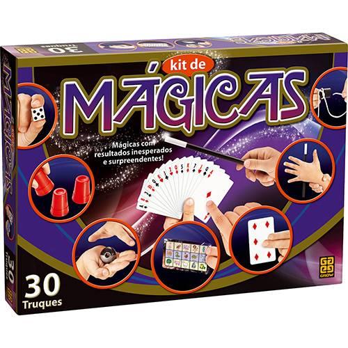 Kit de Mágicas 30 Truques - Grow 02525 - Noy Brinquedos