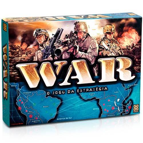 Jogo War - Grow 02000 - Noy Brinquedos