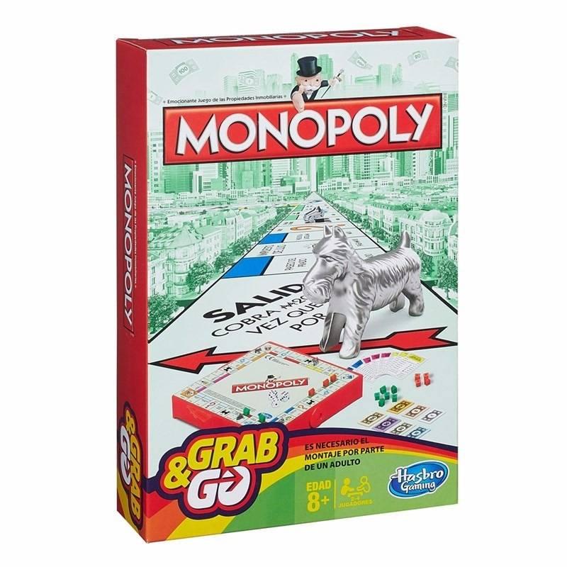 Jogo Monopoly Grab and Go - Hasbro B1002 - Noy Brinquedos