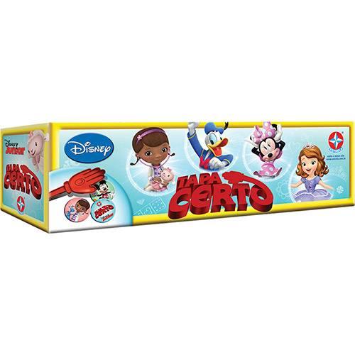 Tapa Certo Disney Jr. - Estrela 1201609200033 - Noy Brinquedos
