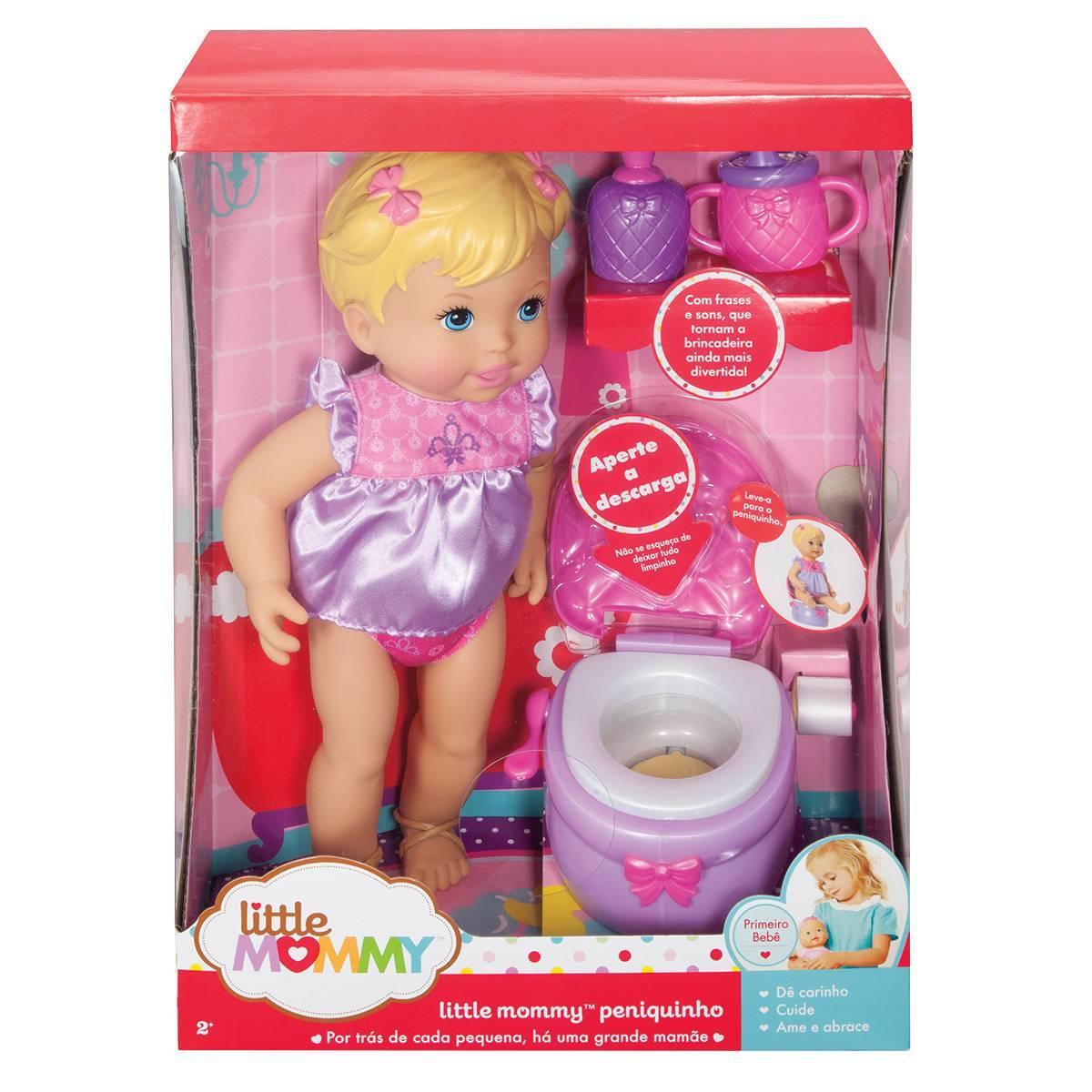 Boneca Little Mommy Peniquinho - Mattel X1519 - Noy Brinquedos