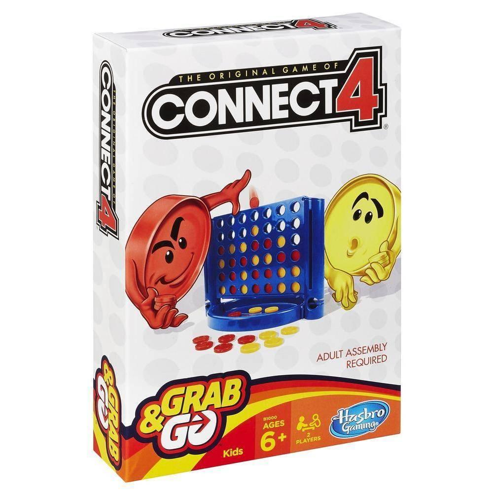 Connect 4 Grab & Go - Hasbro B1000 - Noy Brinquedos
