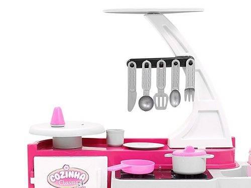 Cozinha Infantil Classic Pia Fogão e Geladeira - Cotiplás 1601 - Noy Brinquedos