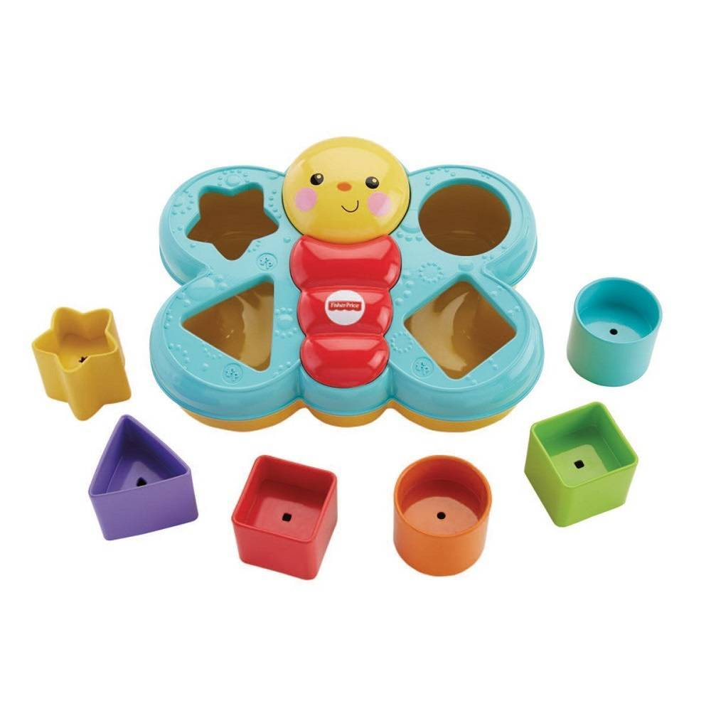 Fisher Price Encaixa Borboleta - Mattel DJD80 - Noy Brinquedos