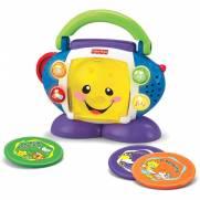Fisher Price CD Player  Aprender e Brincar   Mattel P5314