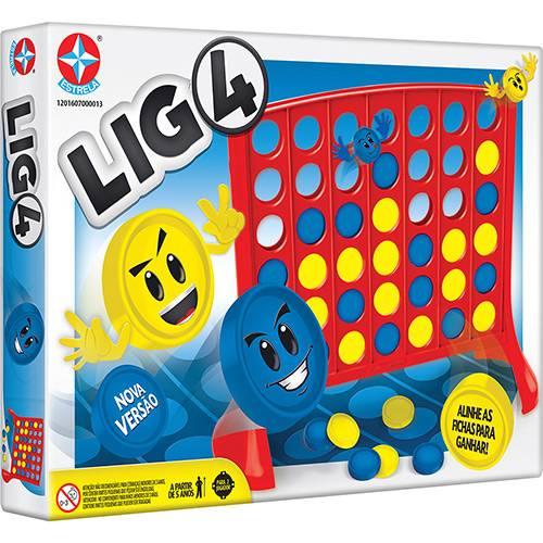 Jogo Lig 4 - Estrela 1201607000013 - Noy Brinquedos