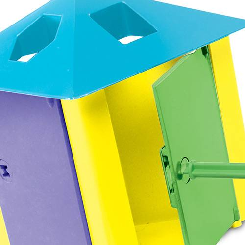 Casa das Chaves Colorido - Estrela 1001104000006 - Noy Brinquedos