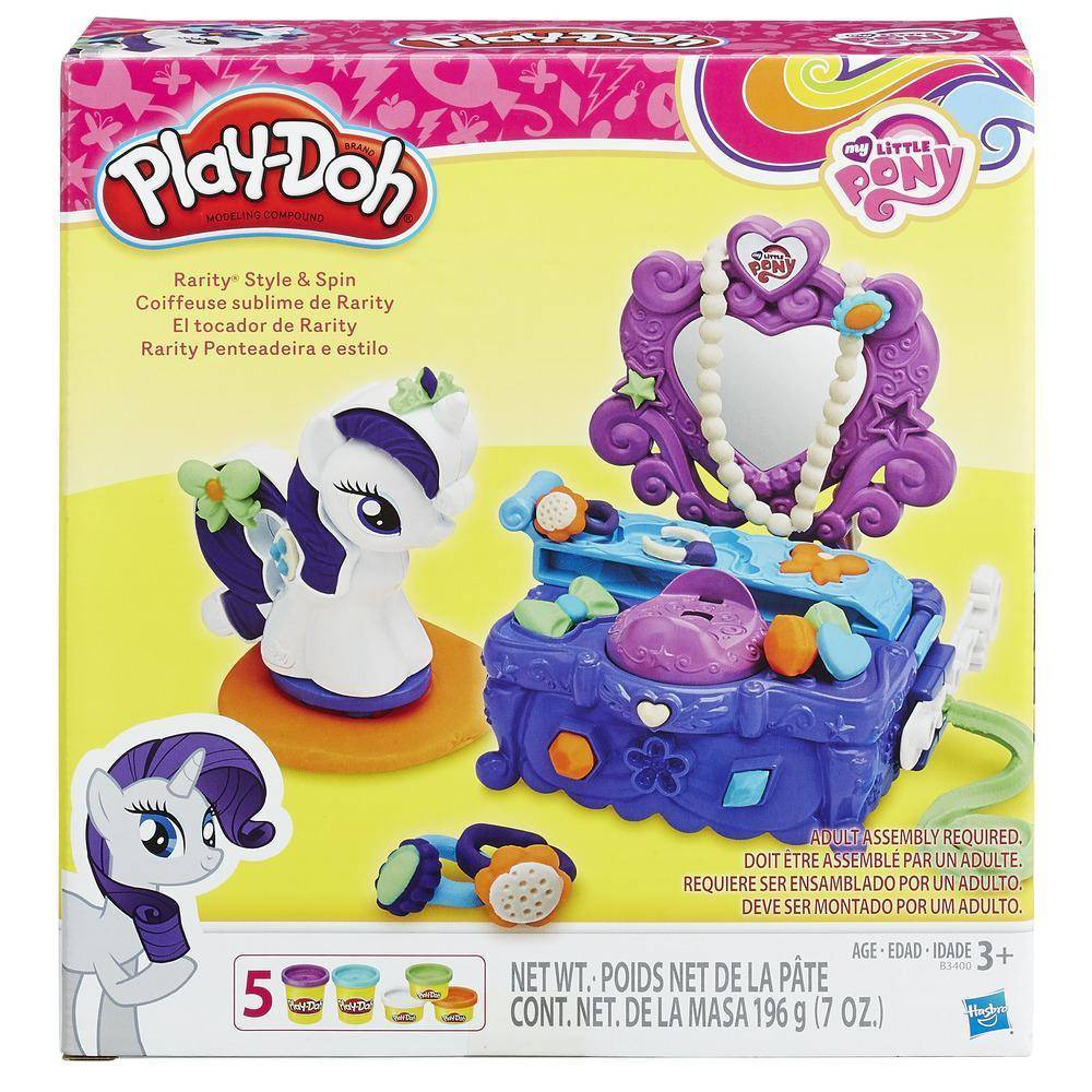 Play Doh Penteadeira Rarity - Hasbro B3400 - Noy Brinquedos