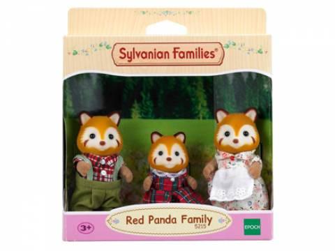 Familia Dos Pandas Vermelhos - Sylvanian Families 5215 - Noy Brinquedos