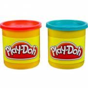 Play Doh Potes Vermelho e Azul   Hasbro 23656