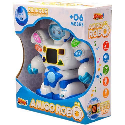 Boneco Amigo Robô - Zoop Toys ZP00048 - Noy Brinquedos