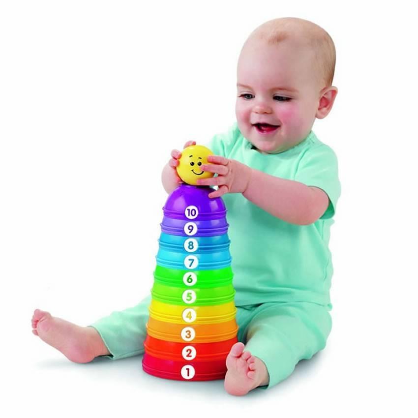 Torre de Potinhos - Fisher Price W4472 - Noy Brinquedos