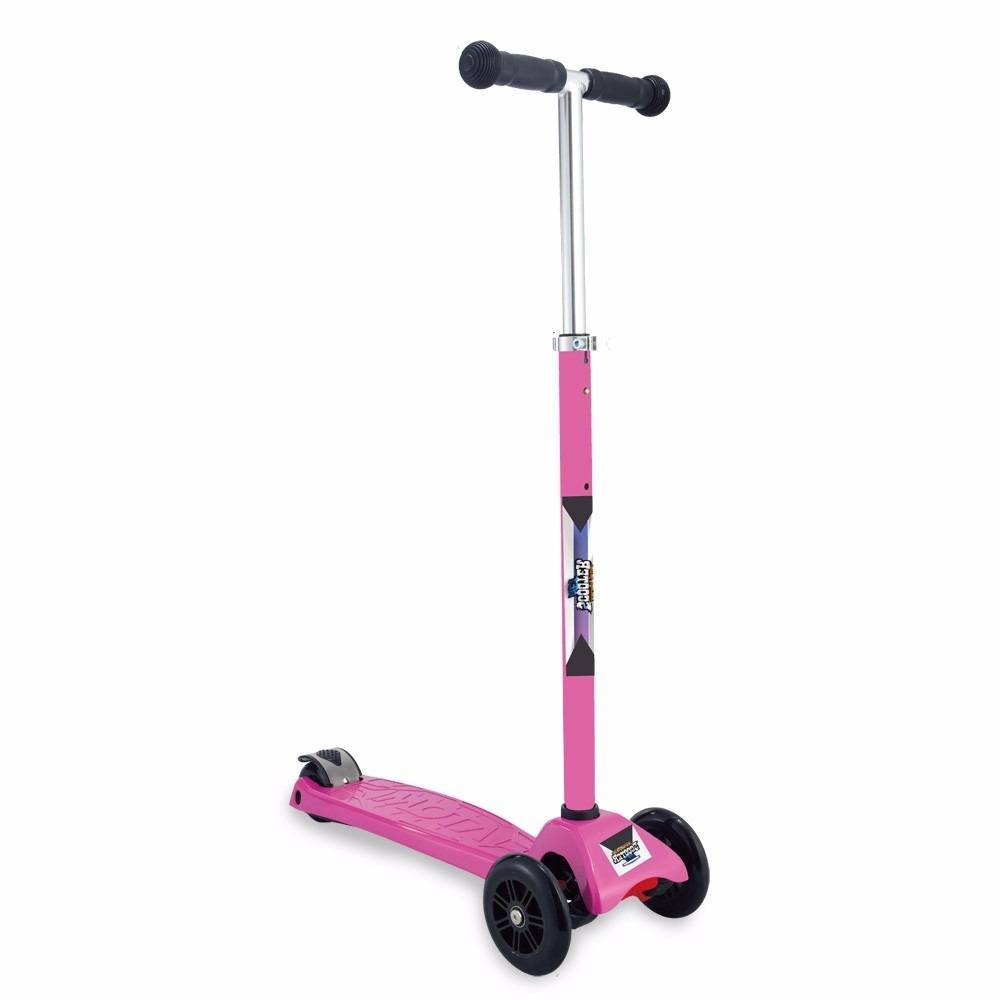 Patinete Scooter Net Max Racing Club Rosa - Zoop Toys ZP00105 - Noy Brinquedos