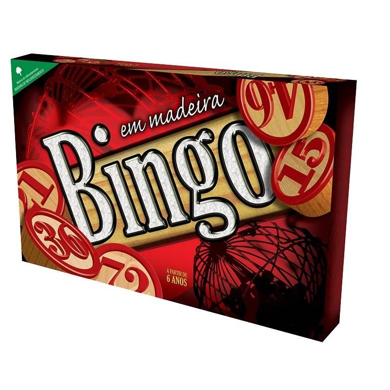 Jogo Bingo De Madeira - Pais&Filhos 2806 - Noy Brinquedos