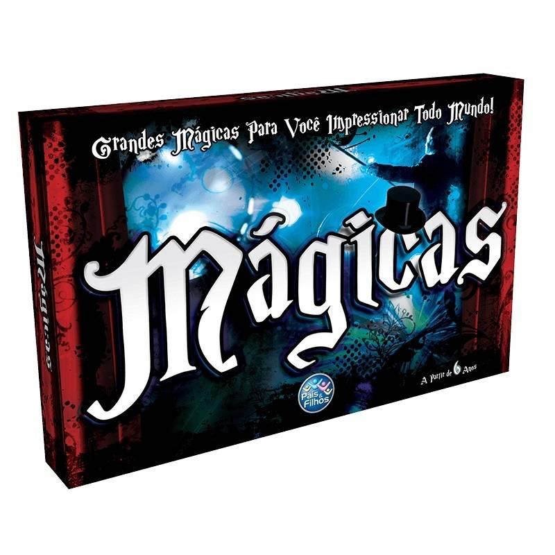 Jogo de Mágicas - Pais&Filhos 2805 - Noy Brinquedos