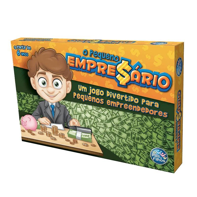 O Pequeno Empresário - Pais&Filhos 27961 - Noy Brinquedos