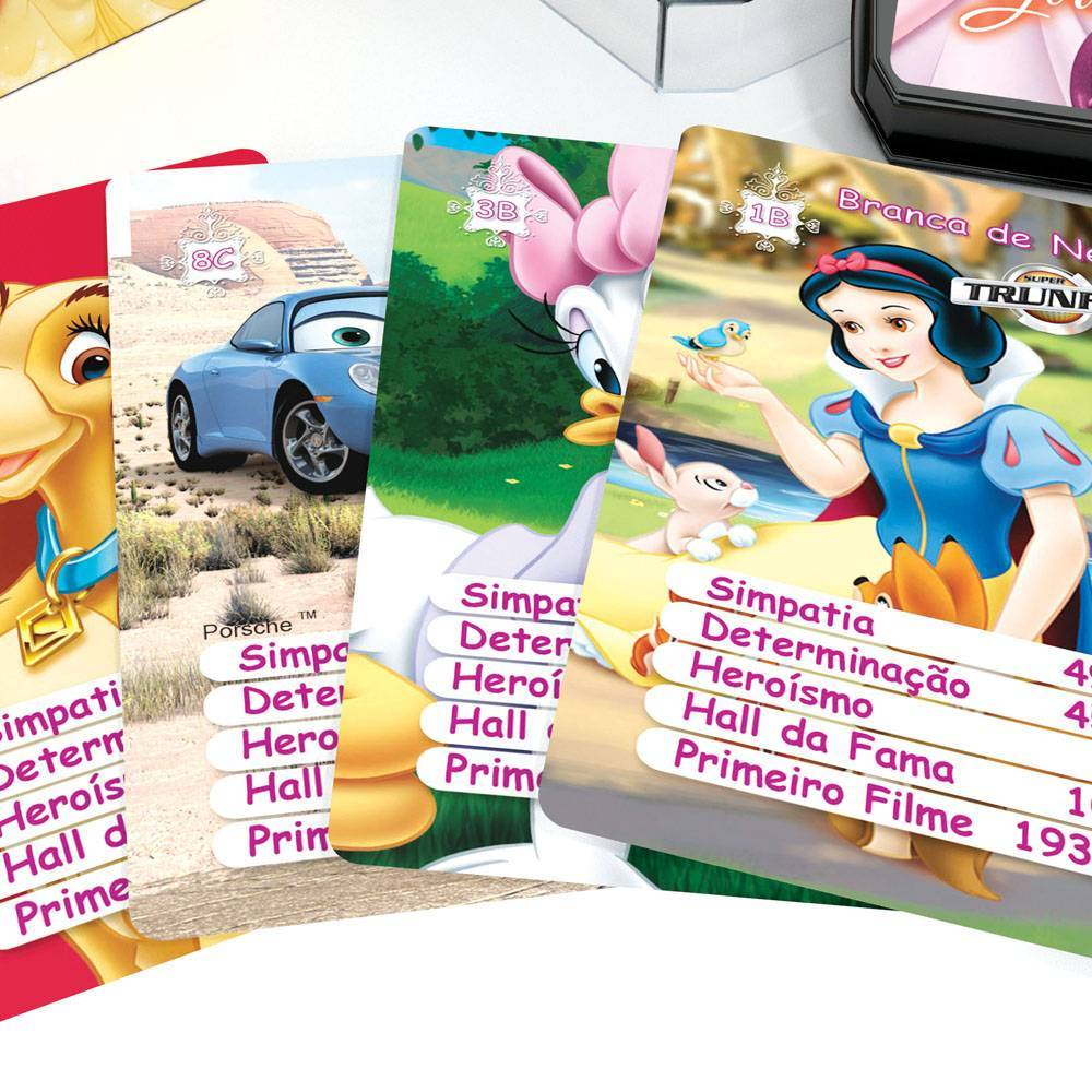 Super Trunfo Girls Disney - Grow 02471 - Noy Brinquedos