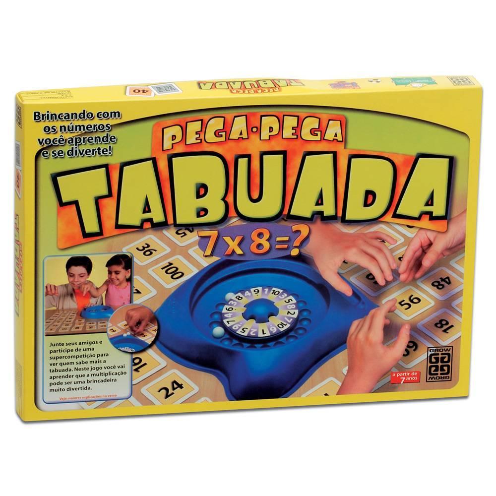 Jogo Pega-Pega Tabuada - Grow 01467 - Noy Brinquedos