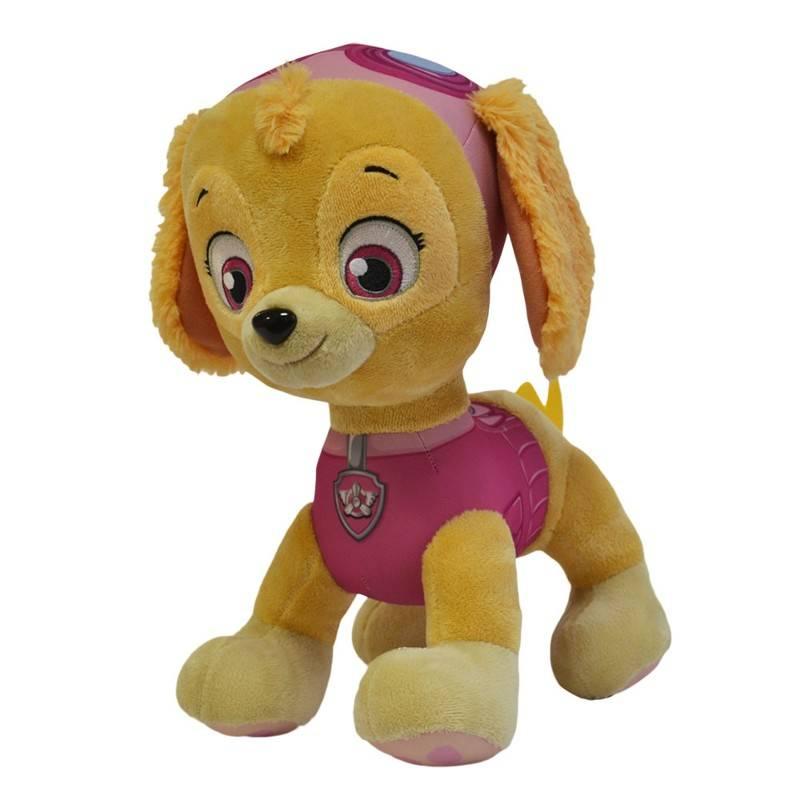 Pelúcia Patrulha Canina Skye 30cm - Sunny 1342 - Noy Brinquedos