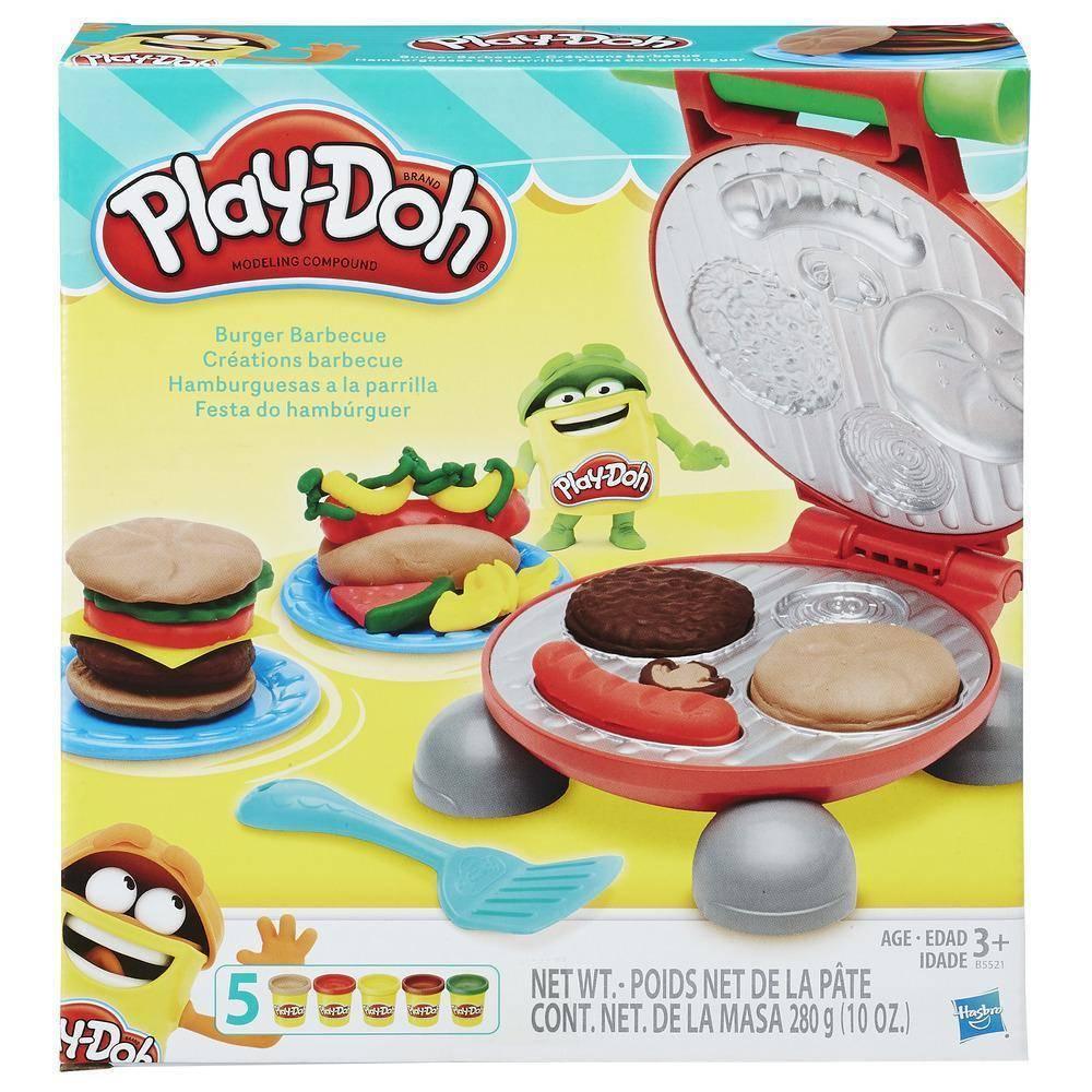 Festa do Hambúrguer Play-Doh - Hasbro B5521 - Noy Brinquedos