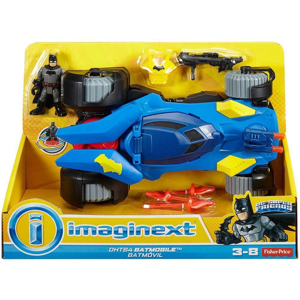 Super Batmóvel Imaginext - Mattel DHT64 - Noy Brinquedos
