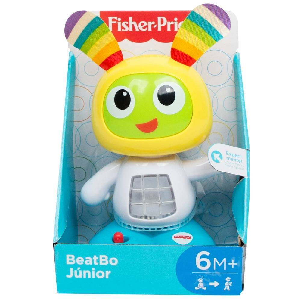 BeatBoo Junior Fisher Price - Mattel FDN72 - Noy Brinquedos