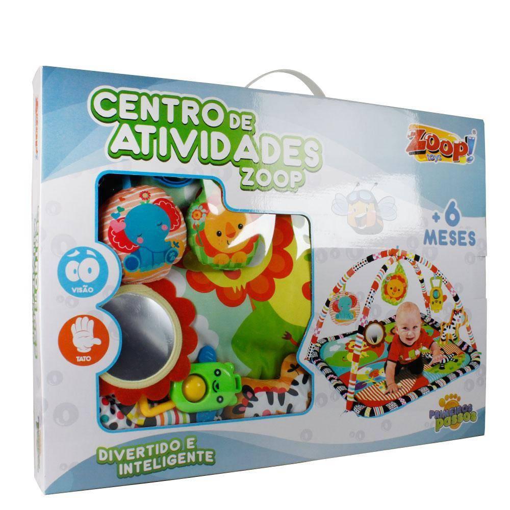 Centro De Atividades -Zoop Toys Zp00179 - Noy Brinquedos
