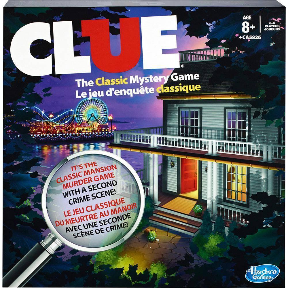 Jogo Clue - Hasbro Gaming A5826 - Noy Brinquedos