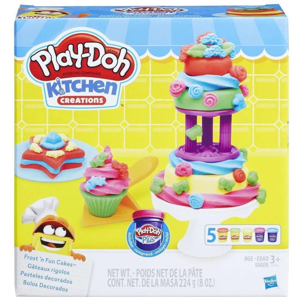 Bolos Divertidos Play-Doh - Hasbro B9741 - Noy Brinquedos