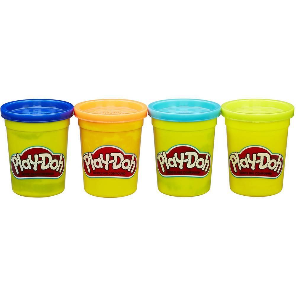 Massinha c/4 Potes Play-Doh - Hasbro B5517 - Noy Brinquedos