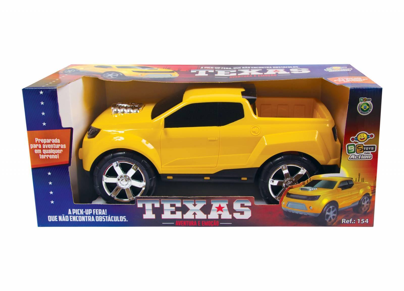 Pick Up Texas Linha Action - BS Toys 154 - Noy Brinquedos