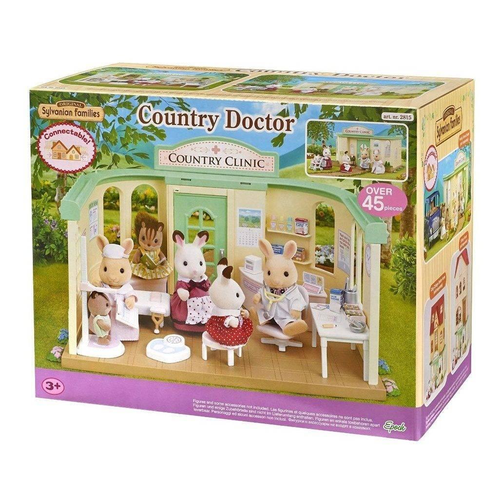 Clínica do Campo - Sylvanian Families 3622 - Noy Brinquedos