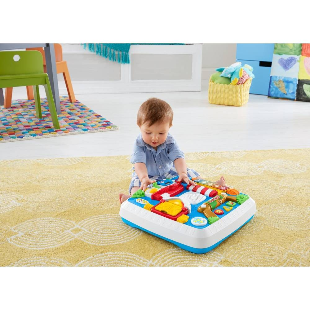 Mesa Bilíngue Cidade Divertida Fisher-Price - Mattel DRH45 - Noy Brinquedos