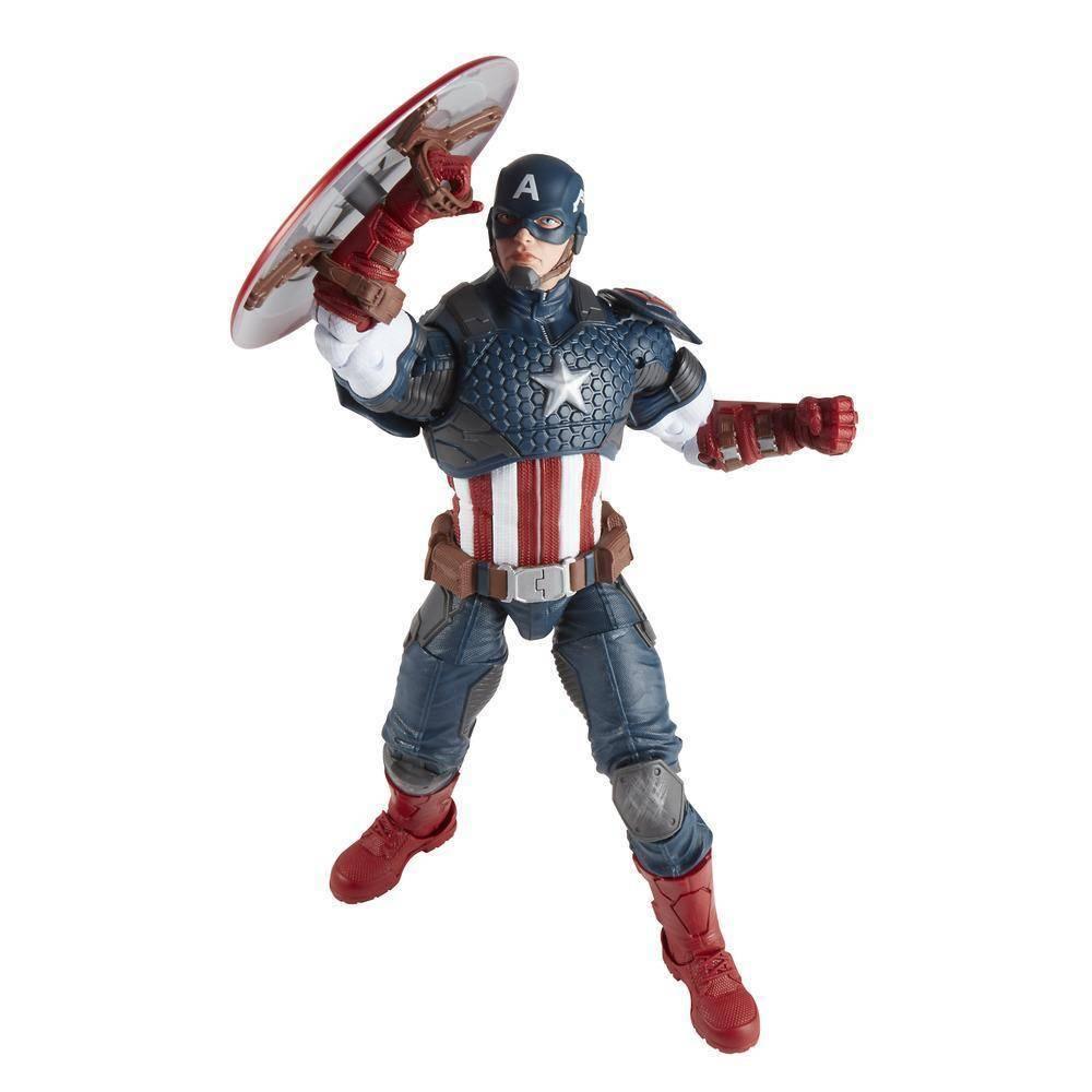 Capitão América 30cm Vingadores Marvel Legends - Hasbro B7433 - Noy Brinquedos