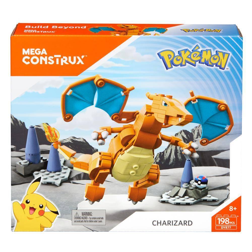 Charizard Mega Construx Pokémon - Mattel DYR77 - Noy Brinquedos