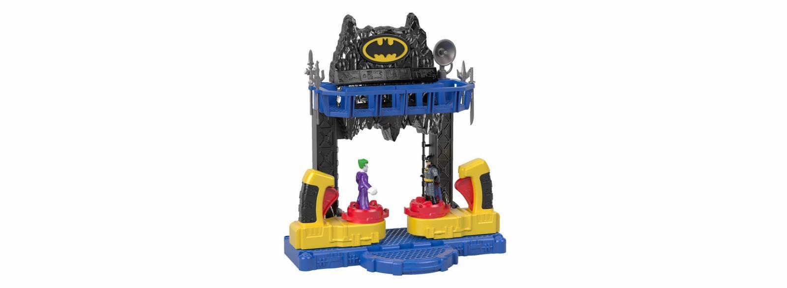 Batalha na Batcaverna DC Imaginext - MattelFKW12 - Noy Brinquedos