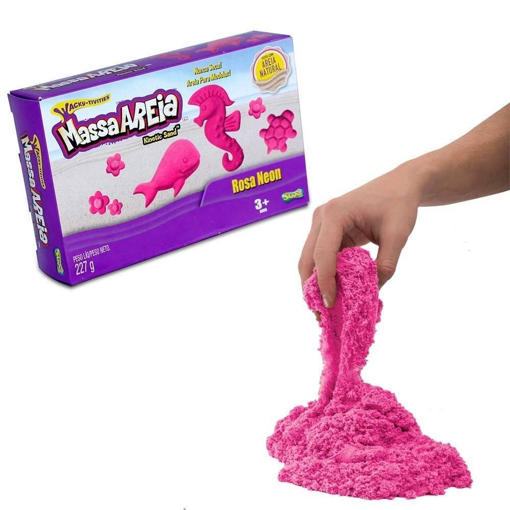 Rosa 227G  Kinetic Sand - Sunny 1801 - Noy Brinquedos