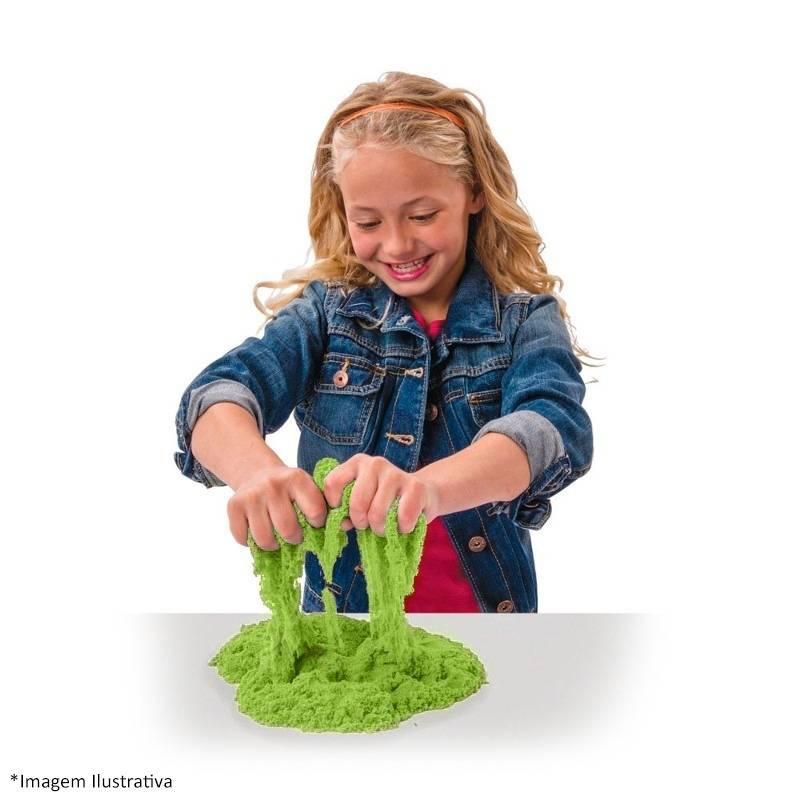 Verde 227G  Kinetic Sand - Sunny 1801 - Noy Brinquedos