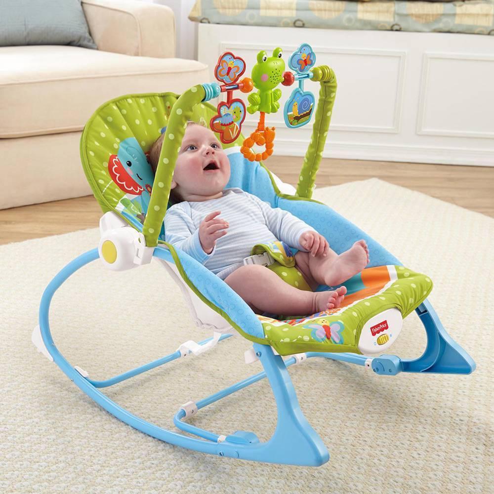 Cadeira Minha Infância Bosque Fisher-Price - Mattel BGB00 - Noy Brinquedos